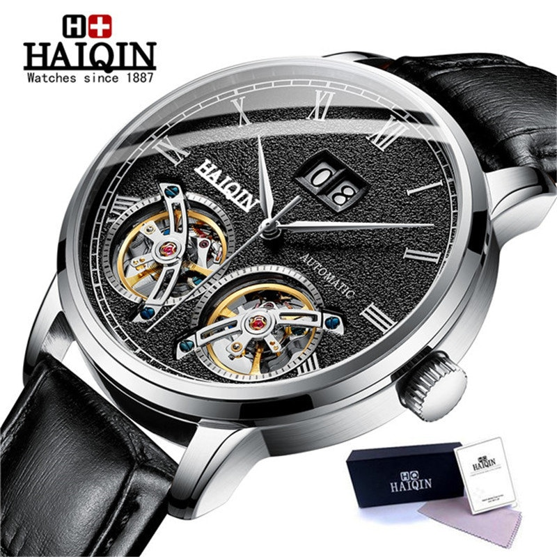 New Men Automatic Self Wind Mechanical Style Mens Watches Top Brand Luxury Watch Men Tourbillon Military Clock Relogio Masculino aesop 100% real tourbillon automatic mechanical watch men wrist mens watches top brand luxury skeleton clock relogio masculino