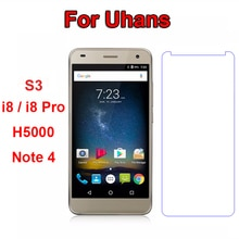 Uhans Note 4 S3 A101S H5000 Защита экрана для Uhans H5000 Защита от царапин Закаленное стекло для Uhans I8/I8 Pro 5,7 пленка для телефона