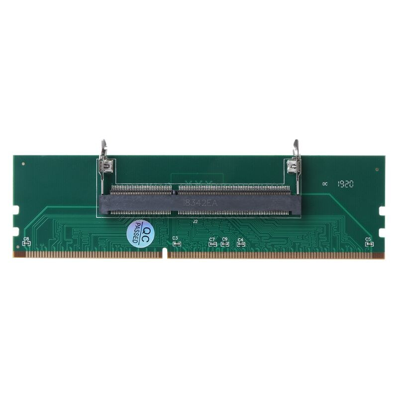 DDR3 SO DIMM to Desktop Adapter DIMM Connector Memory Adapter Card 240 to 204P Desktop Computer Comp