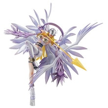 Fighting Girl Greymon фигурка аниме Digimon Adventure Angewomon ПВХ фигурка модель игрушки M4046