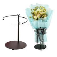New Stand Artifact Iron Flower Table  Multifunctional Torus Bouquet