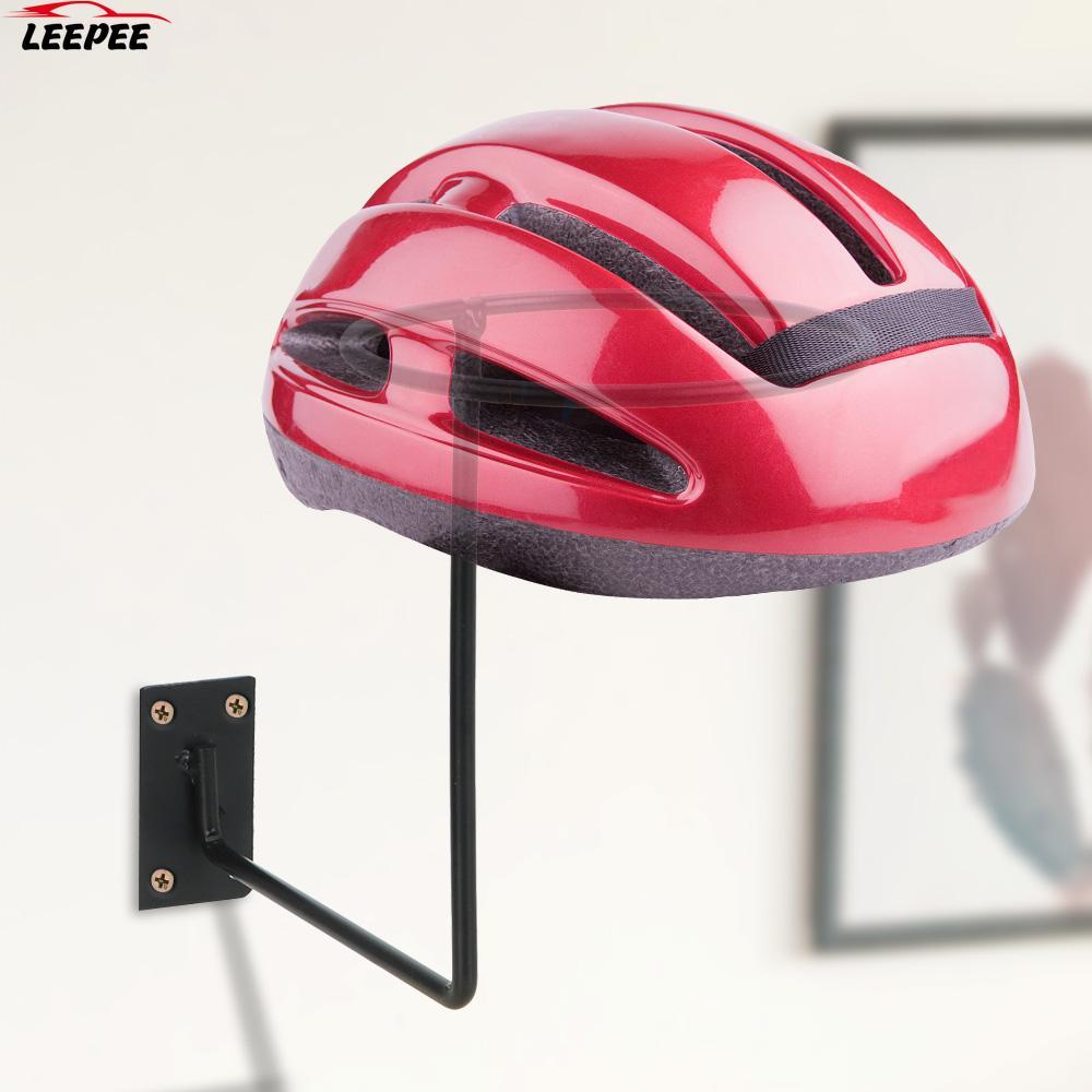 Motorrad Helm Halter Aufhänger Unterstützung Aluminium Helm Display-ständer Wand Haken Rack