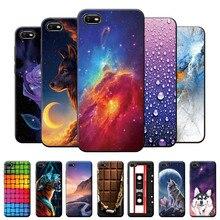 For Realme C2 Case Matte Back Cover For Realme C2 C 2 Silicone TPU Phone Case For OPPO Realme C2 Sof