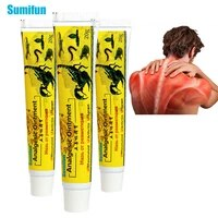 sumifun 20g new pain relief ointment scorpion ointment herbal cream for rheumatoid arthritis joint muscle rub medical plaster