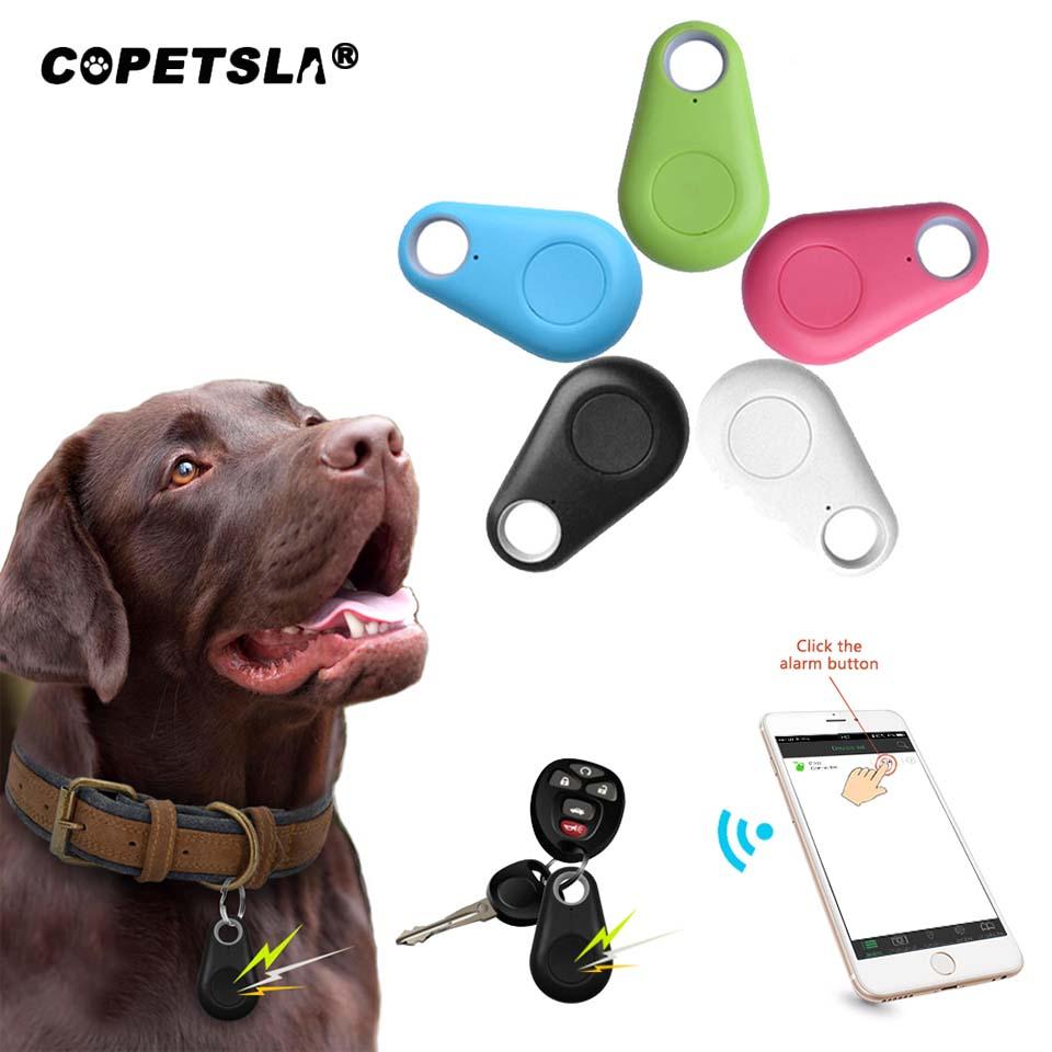 Copetsla 1Pc Pet Smart GPS Tracker Mini Anti-Lost Waterproof Locator Tracer For Pet Dog Cat Kids Car Wallet Key Collar