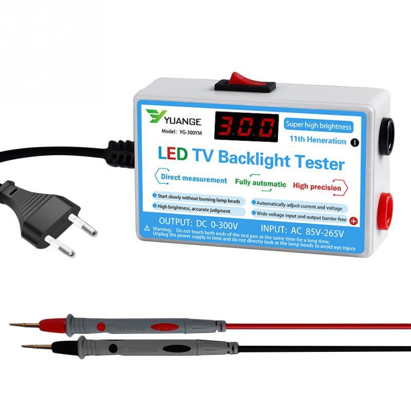 Tiras de pantalla Digital LCD portátil, probador de retroiluminación LED de TV para el hogar, herramienta de medición, luces multiusos, lámpara de reparación, detección de cuentas
