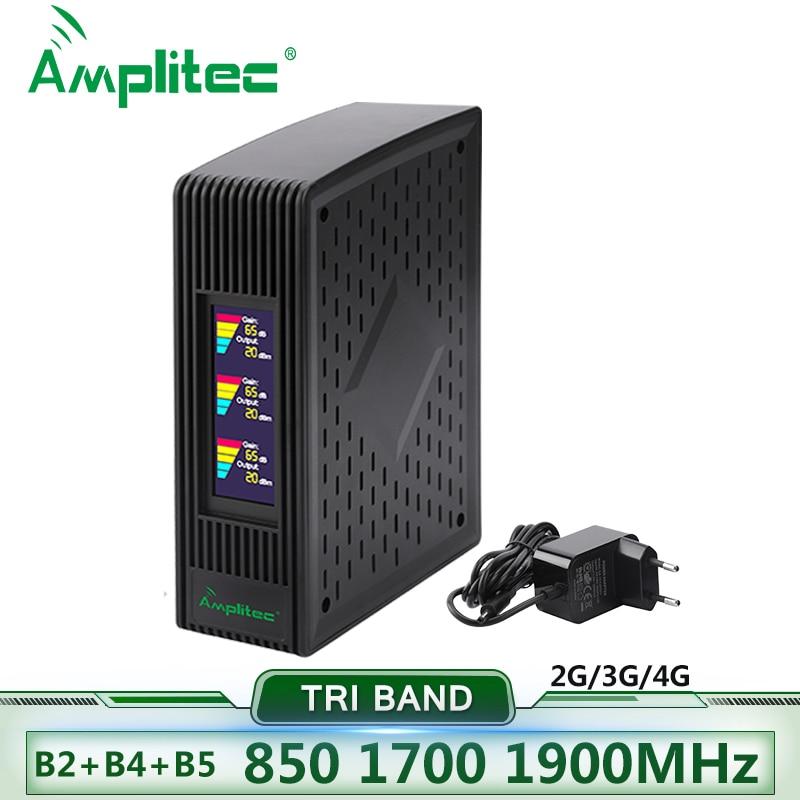 900 1800 2100 GSM Repeater 2G3G4G Cellular Signal Amplifier LTE 4G DCS Mobile Signal Booster 4G Repeater Cellular Amplifier Host