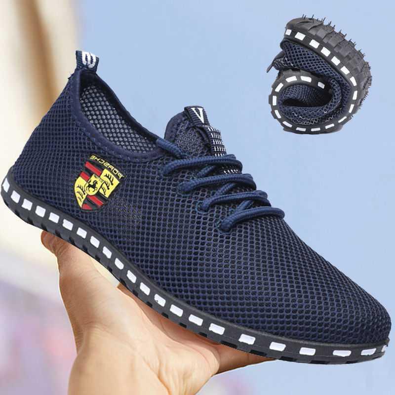 Mocasines informales antideslizantes para Hombre, Zapatillas deportivas transpirables, ligeras, para correr, a...