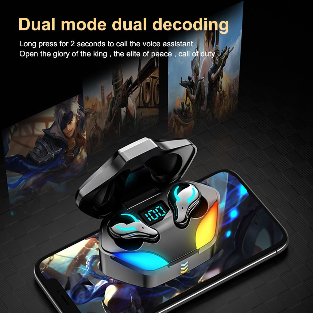 Promo X1 TWS E-sports Gaming Headset New Wireless Buletooth Headphone With Noise Reduction Dual Mode Headset For E-Sports Games