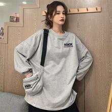 Waitmore Hong Kong Style Chic Sweater Women's Autumn Ins Loose Korean Style Boyfriend Idle Style Thi