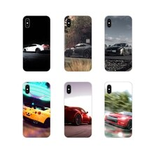 Coque souple transparente Nissan GT R Super Sport pour Sony Xperia Z Z1 Z2 Z3 Z5 compacte M2 M4 M5 E3 T3 XA Huawei Mate 7 8 Y3II