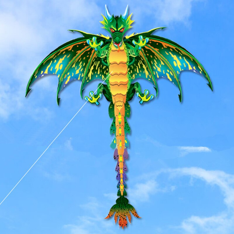 3D pterosaur kite animal dinosaur kite long tail single line kite outdoor sports fun toy kite childr