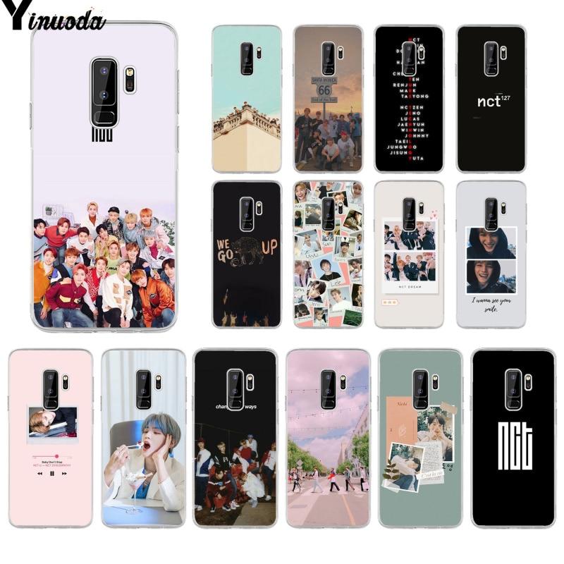 Yinuoda NCT 127 Kpop Soft Silicone TPU Phone Cover for Samsung S9 S9 plus S10 S6 S6edge S10plus S7 S7edge S8 S8plus