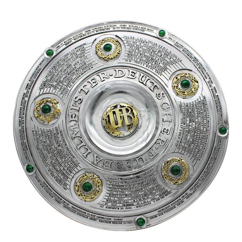 High Quality Bundesliga Championship Trophy Replica Souvenir German Football Trophy Bayern Champions Trophies Fans Souvenir Gift