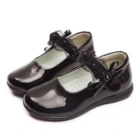 2020new girls shoes for kids children school black pu leather shoes for student girls black dress shoes 4 5 6 7 8 9 10 11 12 16t
