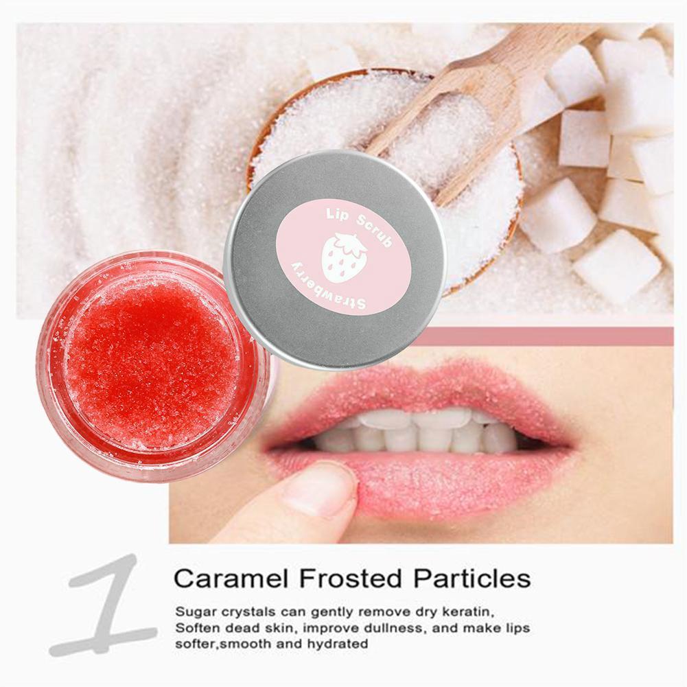 2017 new professional moisturizing full lips cosmetics remove dead skin mixiu brand lip care exfoliating lip scrub Anti Drying Lip Scrub Care Exfoliating Lip Mask Hydrating Enhancer Plumper Moisturizing Lip Lines Collagen Lip Tender Lipst K1P8