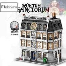 City Creator Expert Buildings Infinity War Doctor Strange Super Sanctum Sanctorum Showdown Joker Batman Lunatic Hospital Blocks