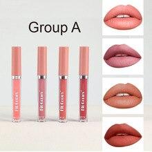Matte Non-stick Cup Lip Gloss Matte Velvet Thin Tube Liquid Lipstick Matte Wife Gift Cosmetics Makeu
