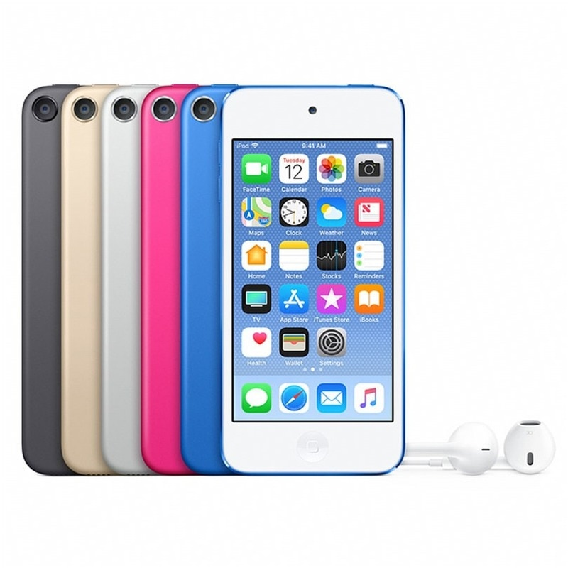 Autorización a estrenar Original Apple Ipod Touch6 Dual Core 4,0 pulgadas 1GB RAM 16/32/64/128gb rom Cámara 8MP C003