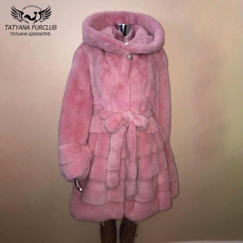 2021 شتاء جديد معطف فرو منك حقيقي مع غطاء محرك السيارة تنورة سميكة الدافئة تنحنح تصميم كامل الجلد الطبيعي معطف فرو منك معطف السيدات الفاخرة