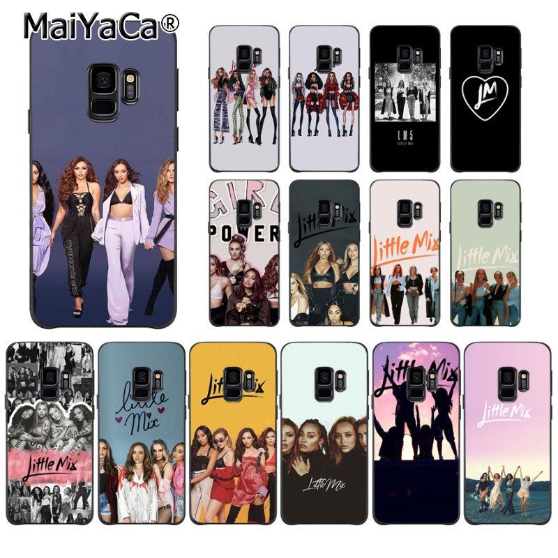 MaiYaCa Little Mix TPU suave teléfono accesorios teléfono caso para Samsung S9 S9 plus S5 S6 S6edge S6plus S7 S7edge S8 S8plus