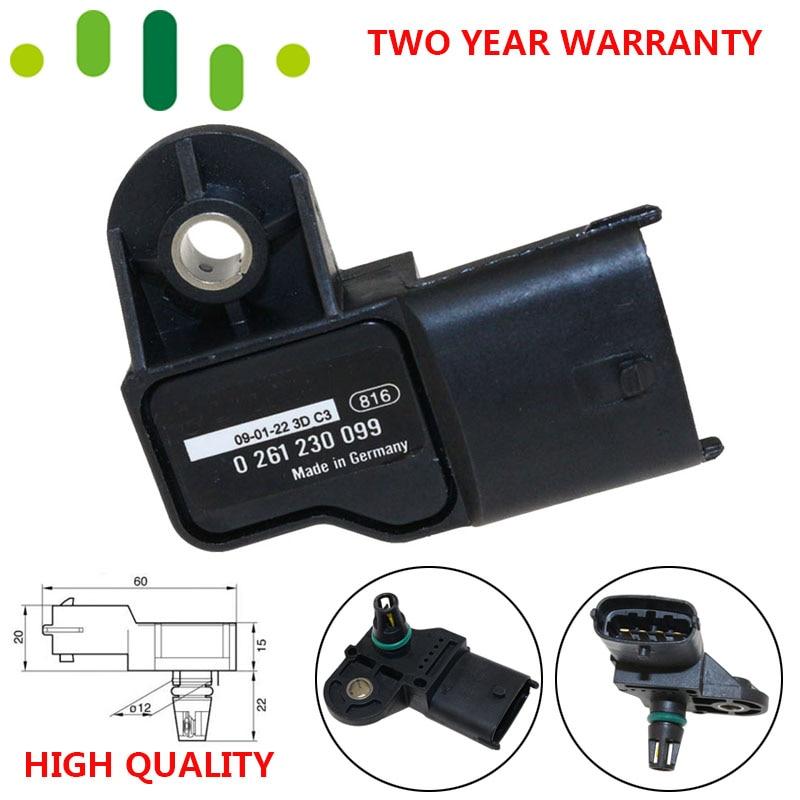 Original MAP Sensor Intake Air Pressure Sensor 37830-PWE-G01 For Honda Jazz Civic Stream 0261230099 For Chevrolet Chery Polaris