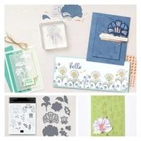 batik boutique flower metal cutting dies stamps scrapbook decoration embossing stencil template greeting handmade 2021 new