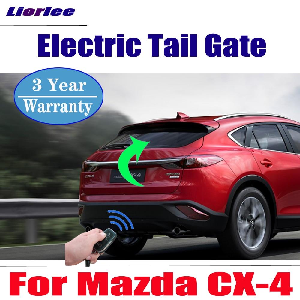 Acessórios do carro elétrico porta da cauda elevador para mazda CX-4 2016 2017 2018 2019 porta porta porta porta da bagageira alimentado tronco eletrônico