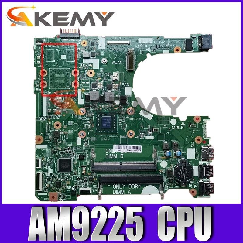 الأصلي CN-03HY7P 03HY7P 16808-1 اللوحة الأم لأجهزة الكمبيوتر المحمول ديل انسبايرون 3565 AM9225 اللوحة الرئيسية