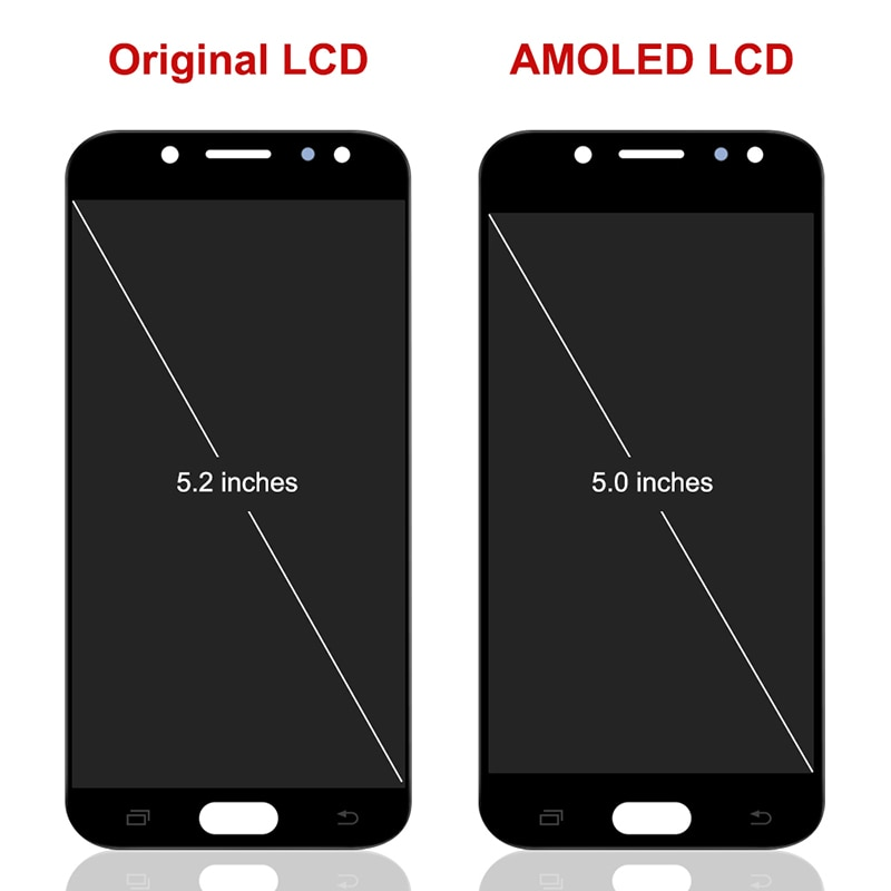 For Samsung Galaxy J5 Pro 2017 OLED LCD Display Touch Screen Digitizer Assembly On SM J530F J 5 2017 530F SM-J530F 100% Test enlarge