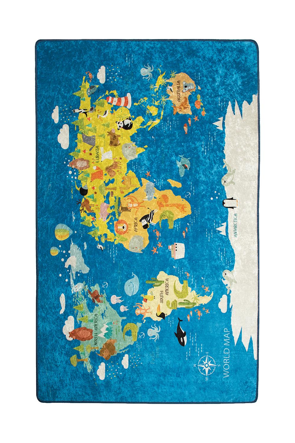 خريطة العالم الرقمية المطبوعة الاطفال غرفة نوم منطقة البساط لينة الطفل اللعب الزحف البساط الأطفال حصير اللعب السرير السجاد غرف معيشة