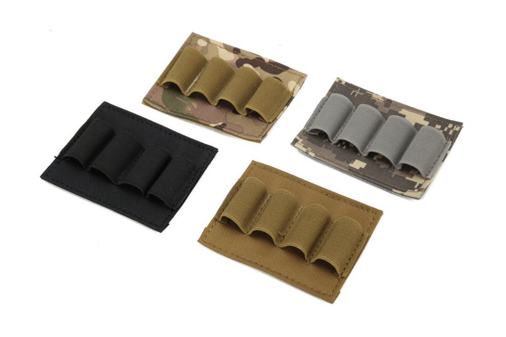 4/6/9 Holes Glowing Light Stick Pouch Elastic Storage Holder Chemlight Battery Elastic Storage Panel Shot Shell Tray