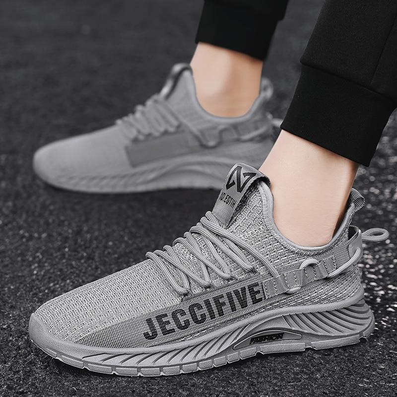 New 2021 Light Running Shoes For Men Comfortable Sport Shoes Breathable Men's Sneaker Wear-resistant Walking Jogging Gym Shoes 2018 new arrival puma men s tsugi jun cubism sneaker badminton shoes size36 44