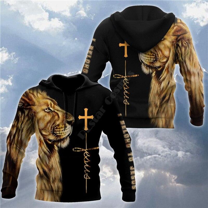 Худи с 3D принтом «Я принадлежит Иисусу», свитшот, худи на молнии, женский и мужской пуловер, костюмы для косплея