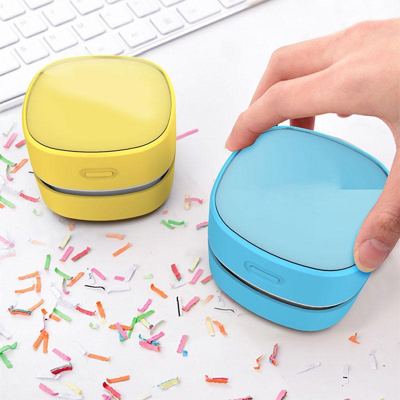 Desktop Vacuum Cleaner Mini Lightweight Easy to Use for Home Office Floor FP8