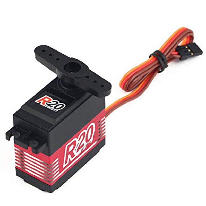 Servo de alta tensión sin núcleo Digital POWER HD R20, con 20Kg de alto Torque para mando a distancia RC, coche, barco, envío Hz
