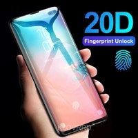 20d full curved cover tempered glass for samsung galaxy s20 s10 s9 s8 plus note 8 9 20 ultra screen protector film