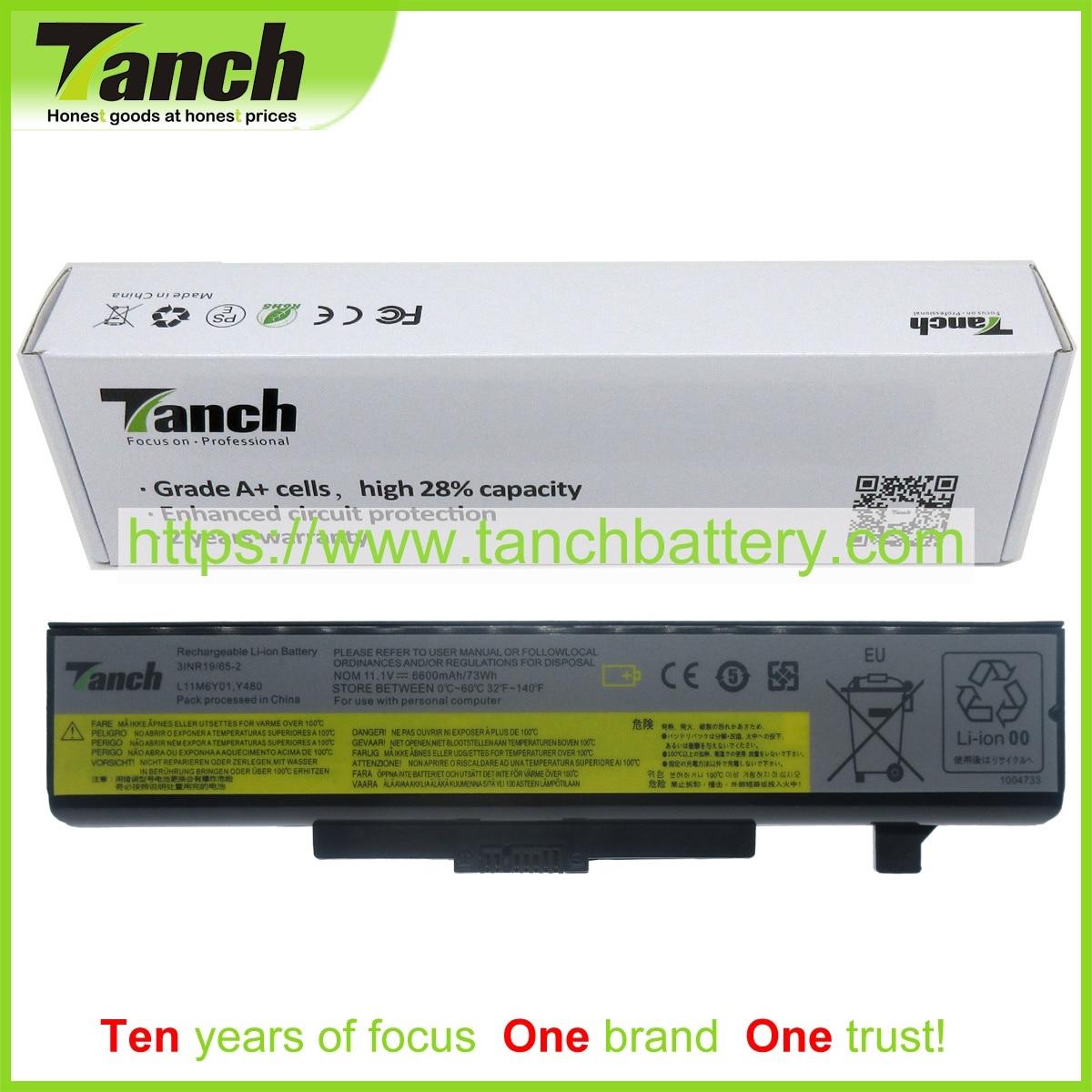 Tanch بطارية كمبيوتر محمول لينوفو L11L6Y01 45N1043 L11P6R01 45N1048 L11M6F01 45N1054 121500047 121500051 11.1V 9 الخليوي
