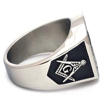 new trendy metal ring with skeleton inlaid cocktail ring accessories party jewelry