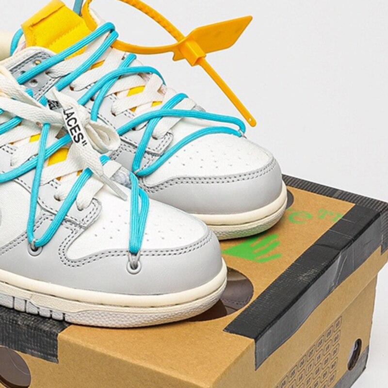 أحذية رياضية للرجال والنساء أحذية تزلج sb منخفضة الاتجاه الأحذية قبالة 50 العلامة التجارية مصمم أحذية رياضية أسود أبيض