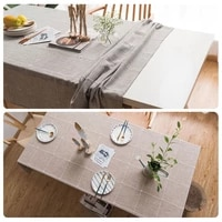 linen tablecloth embroidery cotton tablecloth lace wedding and easter table decoration for partiestablecloths rectangle