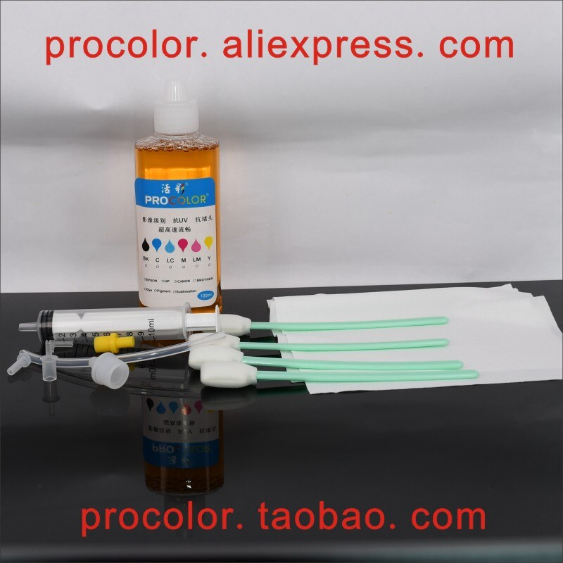 Cabezal de limpieza de tinta líquida limpiador de cabezal para impresora Epson surecolor sc-T3070 T5070 T7070 T3200 T5200 T7200