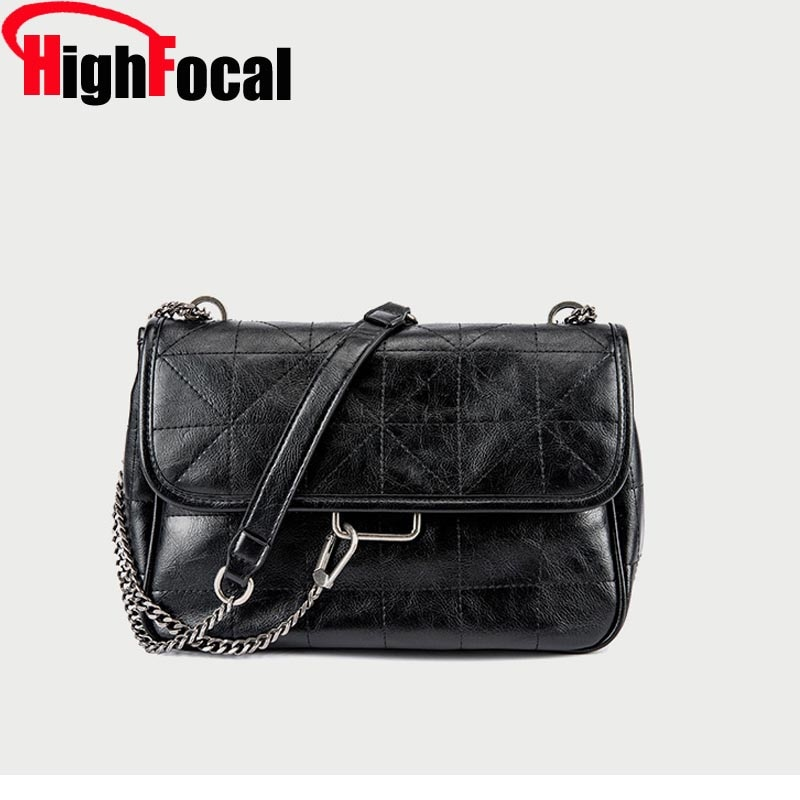 2020 Black Designer Bag Rock Soft Chain Hand Bags For Woman New Rhombus Oblique Span Bag Luxury PU Leather Messenger Bag