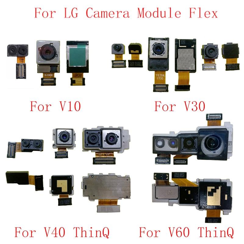 Back Rear Front Camera Flex Cable For LG V10 V20 V30 V40 ThinQ V50 ThinQ V60 ThinQ Big Small Camera Module Repair Replacement