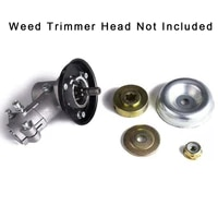 4pcs weed trimmer head adapter for stihl lawnmower blade rider platethrust plate guard washercollar nutthrust washer