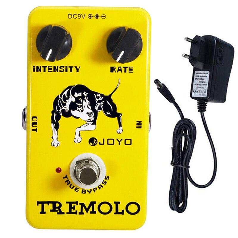 JOYO JF-09 Mini Guitar Pedal Tremolo Pedal Effect for Electric Guitar Tremolo of Classic Tube Amplie