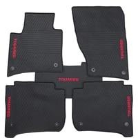 special rubber car floor mat for volkswagen touareg tiguan high quality waterproof anti skip no odor green latex durable carpets