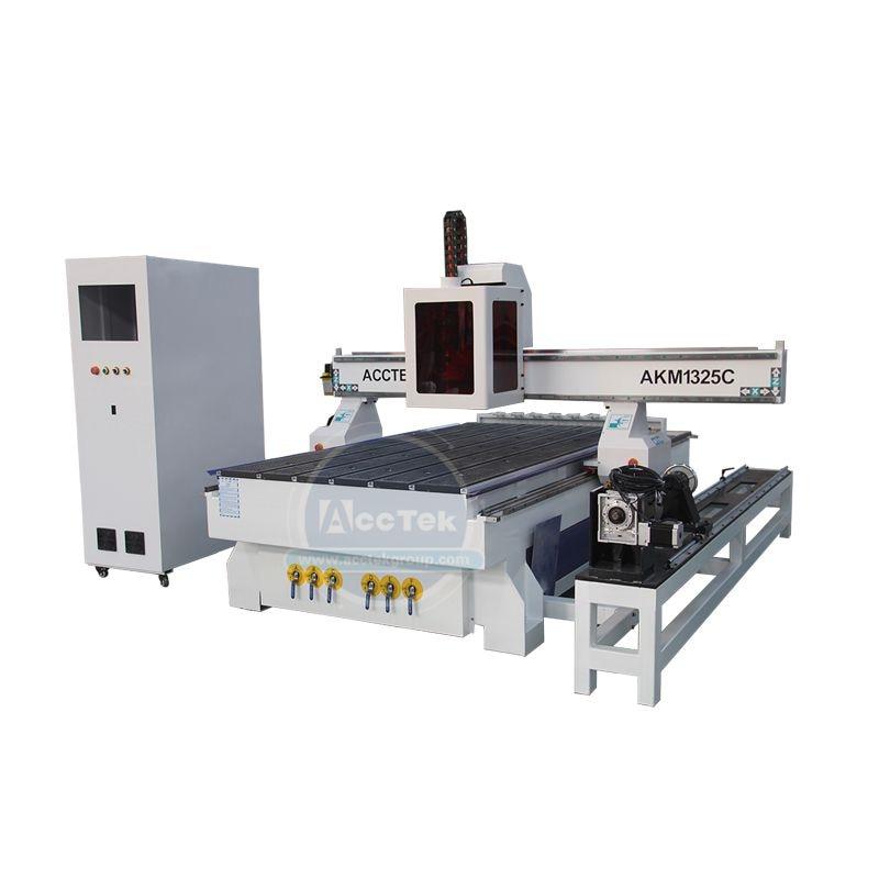 Alta Precisión 1325 ATC CNC maquina enrutadora para cortar y grabar en madera