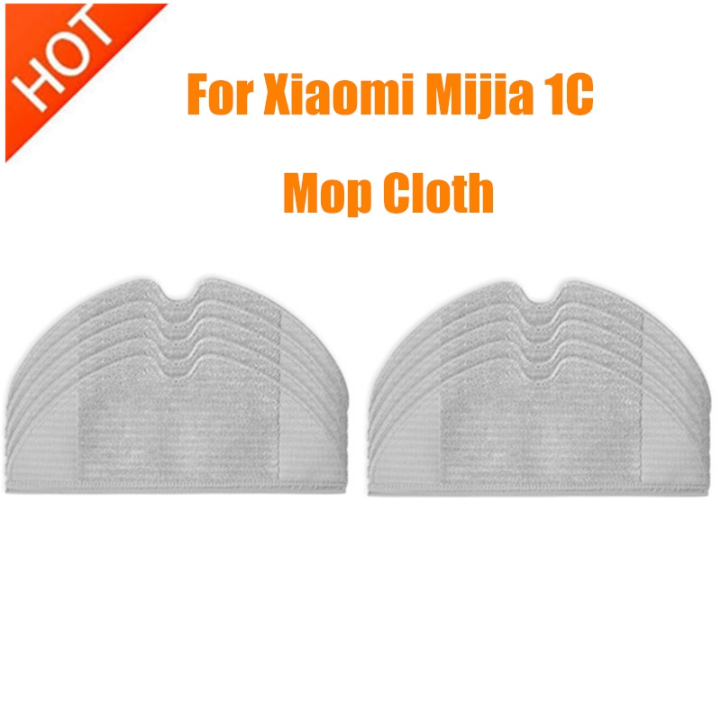 Mop Cloth for Xiaomi Mijia 1C STYTJ01ZHM Sweeping Robot Vacuum Cleaner Parts accessories Replacement Mopping Rags