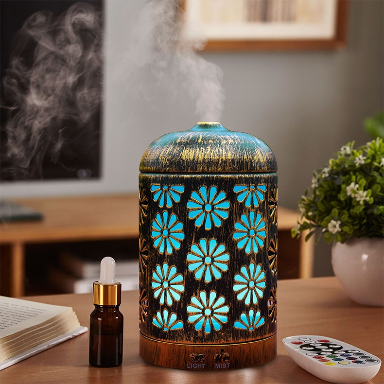 200ml-air-humidifier-iron-metal-ultrasonic-mist-maker-aroma-essential-oil-diffuser-with-7-color-light-change-room-humidifier